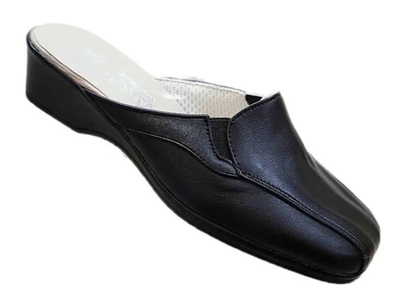 linea-comfort-calzatura-aperta-dietro-pelle-elastico-donna-col-nero