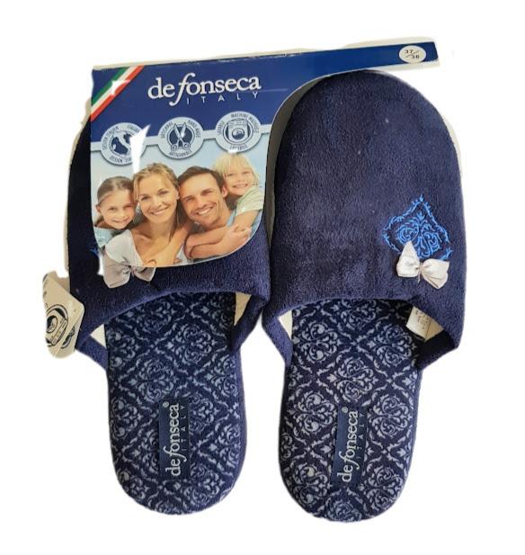 de-fonseca-pantofola-donna-fiocco-col-blu