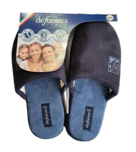 de-fonseca-pantofola-donna-fregio-col-blu